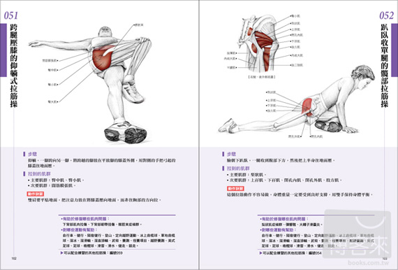 痠痛拉筋解剖書 The Anatomy of Stretching