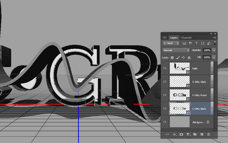 Photoshop - เทคนิคการสร้างตัวอักษร 3D Glowing แบบเนียนๆ ด้วย Photoshop 3dglow18