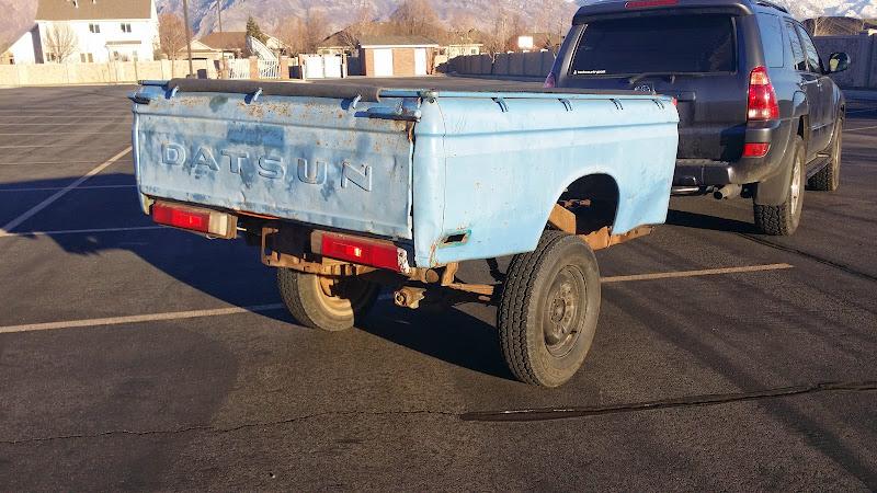 for sale 76 datsun truck bed trailer rme4x4 com rh rme4x4 com Chevy Trailer Wiring 7 Pin Trailer Wiring Harness