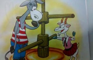 La cabra y el asno fabulas para niños
