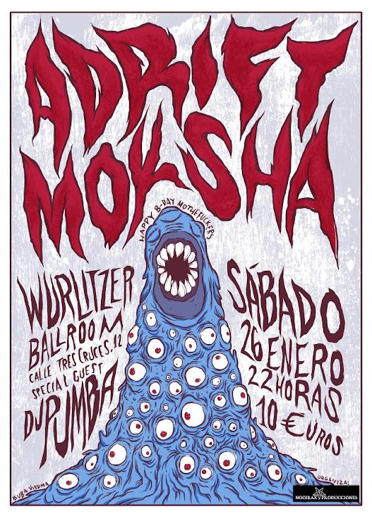 Poster Adrifty Moksha Madrid
