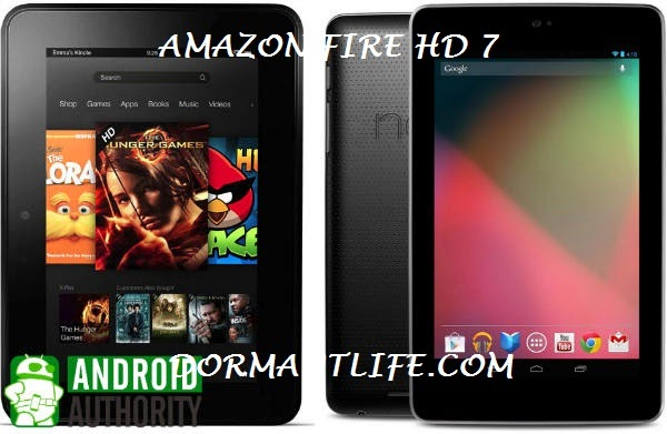 kindle fire hd 7 vs google nexus 7 1 - Amazon Fire HD 7: Tablet Specifications And Price