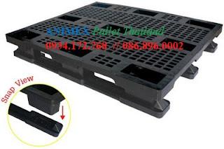 Pallet nhựa lưu kho  SMV 1012 NR hàng nhẹ