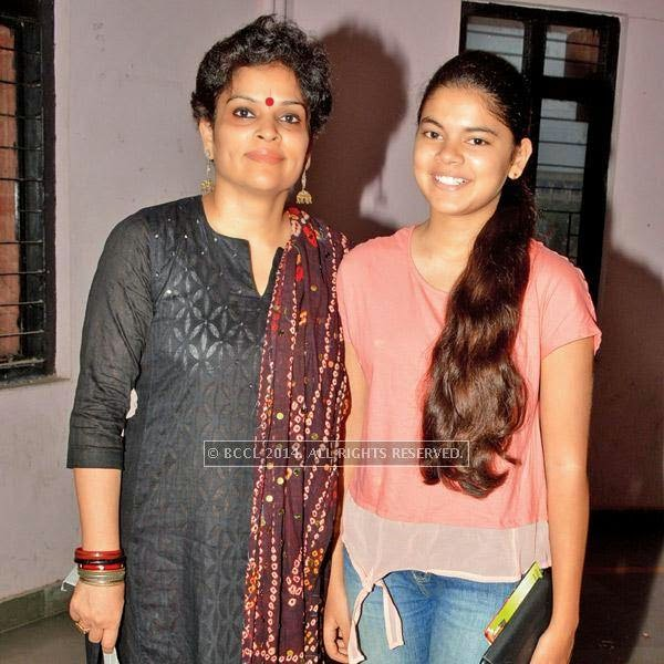 Shivani and Kashvi Raj Singh during the Lucknow Theatre Festival which was organised in the city from July 17.