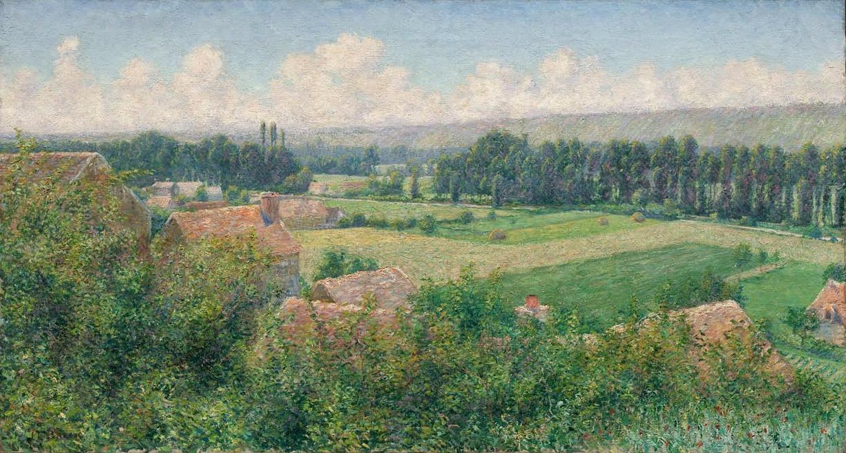 John Leslie Breck - Valley of Seine