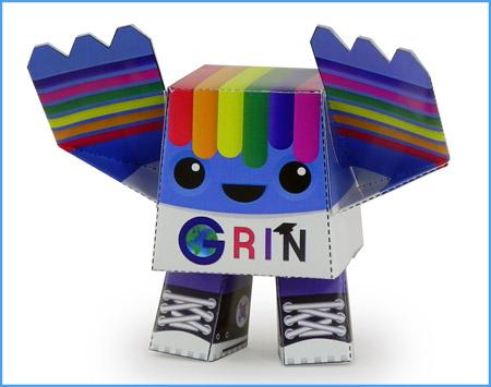 Streak Paper Toy