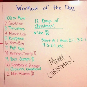 12 Days Of Christmas Crossfit Wod.Crossfit 12 Days Of Christmas Wod Running With Rhyno