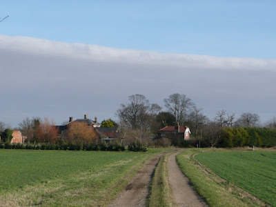 Friston Hall with its associated buildings