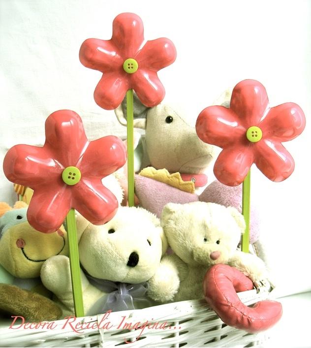 Flores Recicladas - Upcycled Flowers