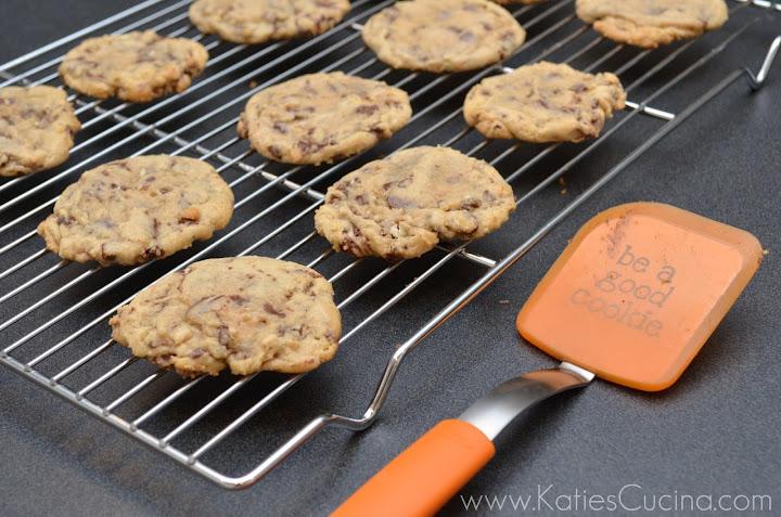Creme de Menthe Chunk Cookies