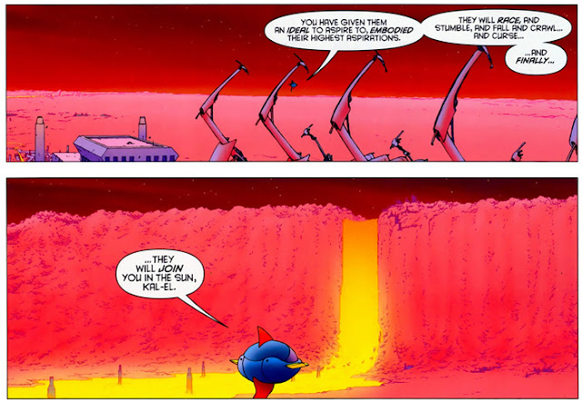 Jor-El Speech All Star Superman 12
