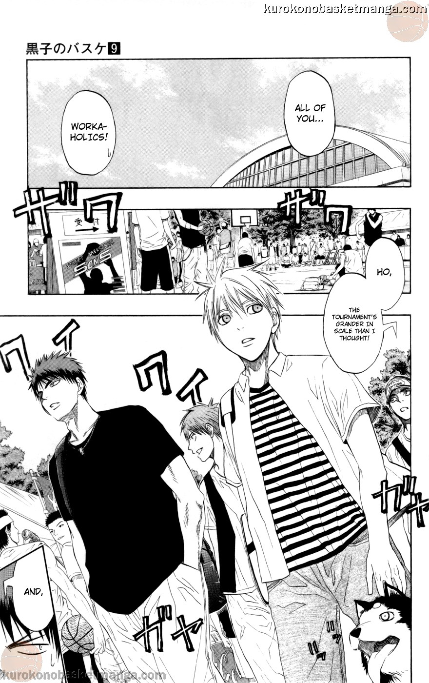 Kuroko no Basket Manga Chapter 75 - Image 05