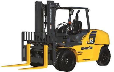 Xe nâng Komatsu 6 tấn FH60-2