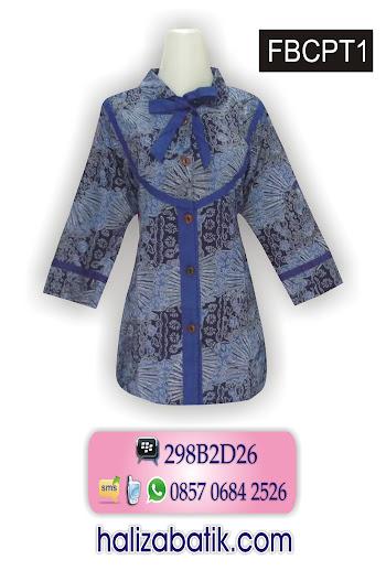 model baju batik wanita lengan panjang, model baju 2015, model blus batik