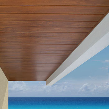 Acabados en interiores y exteriores tablaroca y durock for Techos de madera para exterior