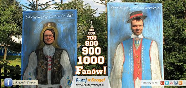 Ruszaj w Drogę na Facebooku - Dołącz do ponad 1000 Fanów