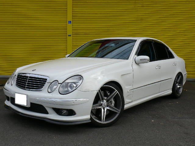 mercedes benz e55 amg w211 benztuning. Black Bedroom Furniture Sets. Home Design Ideas
