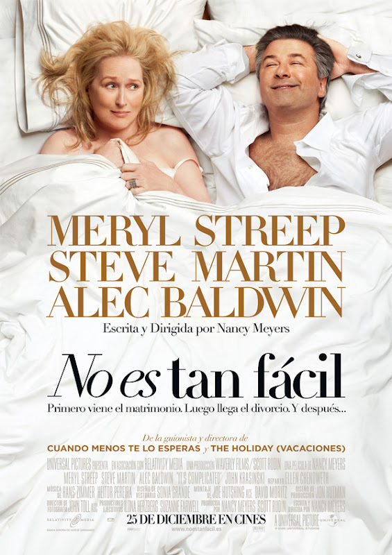 No es tan fácil (Nancy Meyers, 2.009)