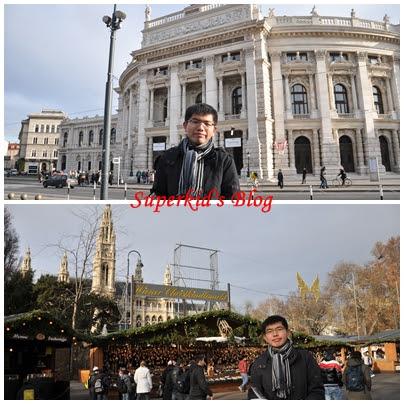 我在維也納市政廳