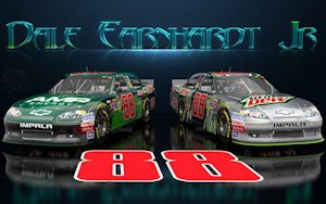 Dale Earnhardt Jr Wicked Text Amp Diet Dew Wallpaper