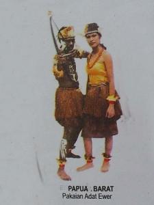 Pakaian Adat Papua Barat Pakaian Tradisional Papua Barat 225x300 Pakaian Adat Tradisional Indonesia