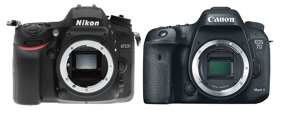 7d Wedding Photography: Nikon D7200 Versus Canon 7D Mark II
