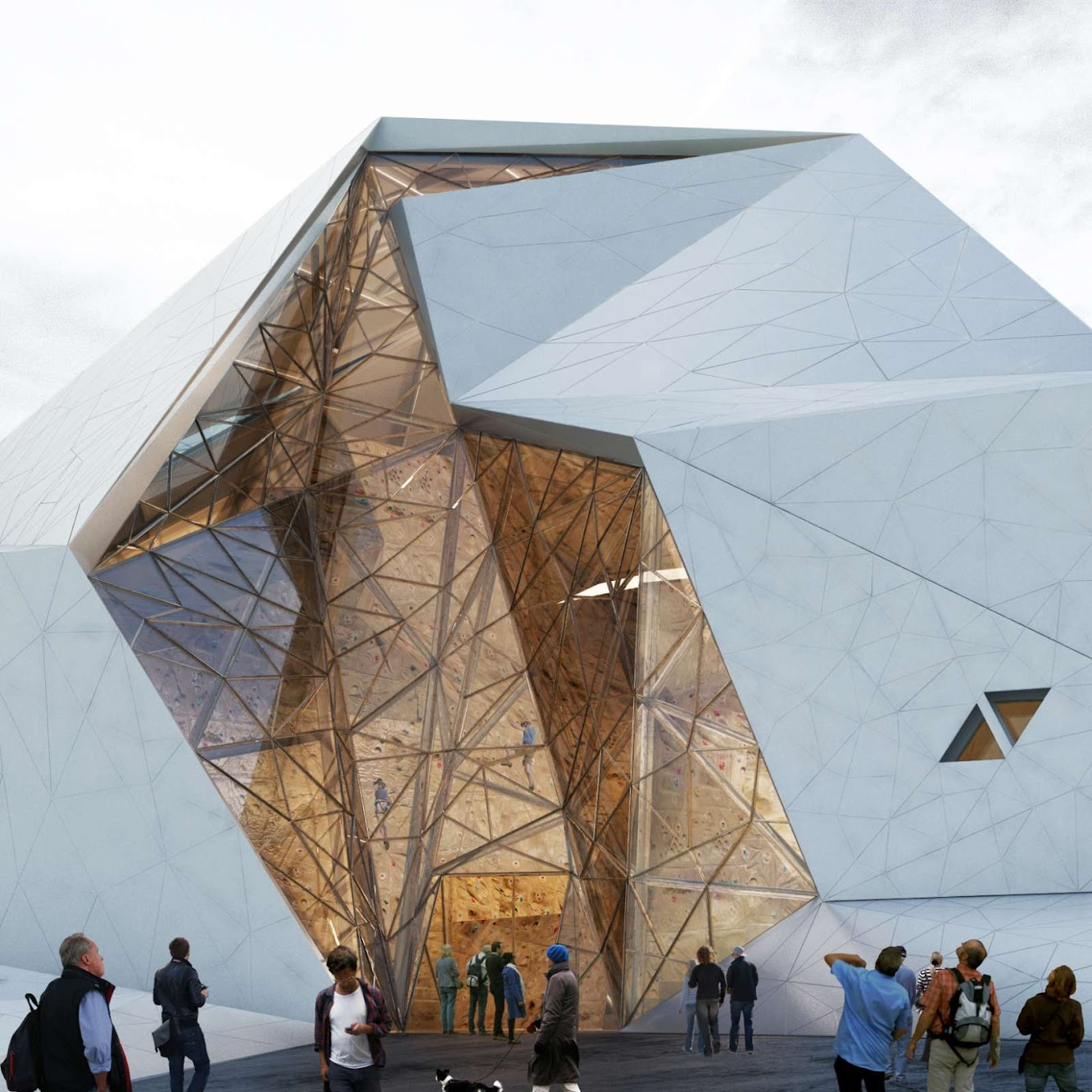 New Wave Architecture: POLOUR ROCK CLIMBING HALL by NEW WAVE ARCHITECTURE