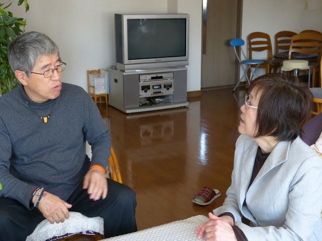 干場功代表と飯田陽子さん