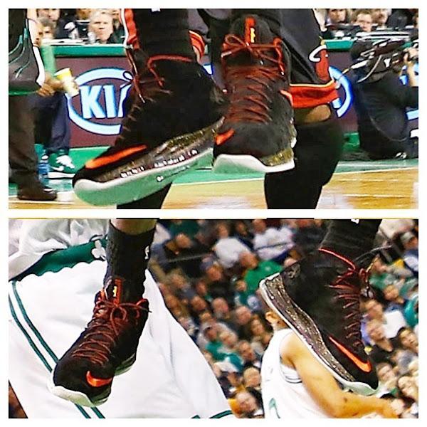 Closer Look at Nike LeBron X Black Suede PE by Nike Sportswear