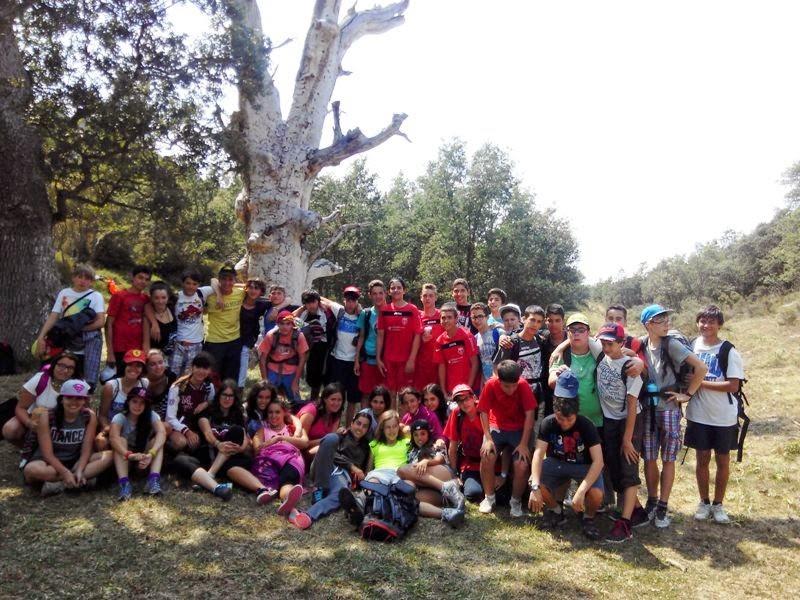 Diario del Campamento de Verano de Molino de Butrera