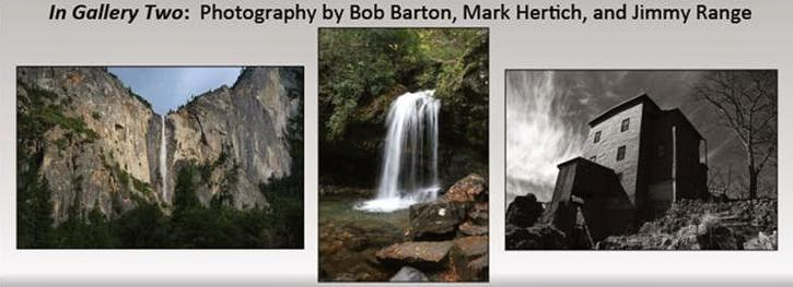 Photography of Bob Barton, Mark Hertich, and Jimmy Range