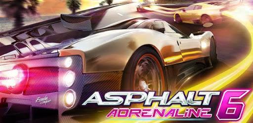 Asphalt 6: Adrenaline v1.33 ARMv6 {Apk+Data}