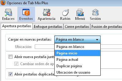 Tab Mix Plus