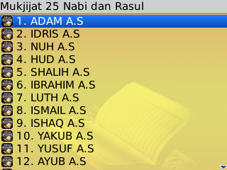 25 Nabi dan Rosul v1.0 BlackBerry