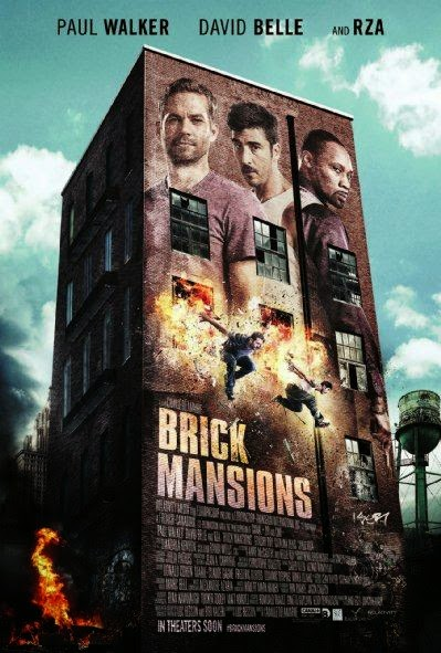 Poster Of Brick Mansions (2014) Full Movie Hindi Dubbed Free Download Watch Online At Alldownloads4u.Com