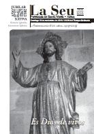 Hoja Parroquial Nº525 - Es Dios de vivos. Iglesia Colegial Basílica de Santa María de Xàtiva - Sexto aniversario de la erección de la colegiata.