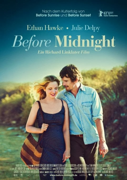 Poster Of English Movie Before Midnight (2013) Free Download Full New Hollywood Movie Watch Online At Alldownloads4u.Com