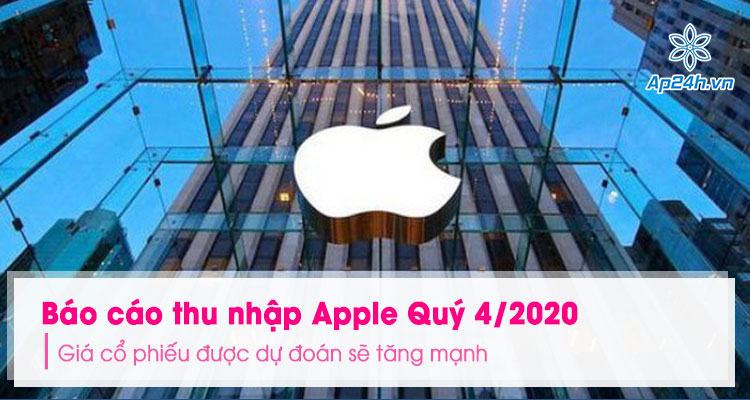 Bao cao thu nhap cua Apple Quy 4/2020