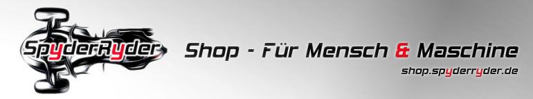 SpyderRyderShop - Für Mensch und Maschine