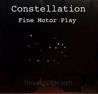 Bring the heavens a little closer earth with this fun upcycle project about constellations.