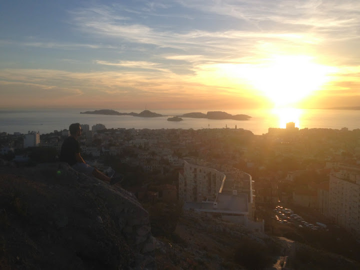 Sunset, Marseille, France. #StudyAbroadBecause... the world is worth it!