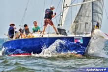 J/30 cruiser racer sailing Annapolis