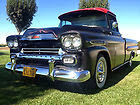 1959 Chevrolet Apache Fleetside Longbed Kustom Sled Hot rod Pickup