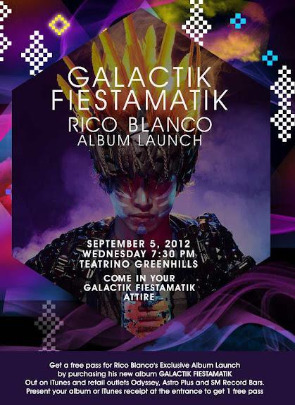 Rico Blanco Galactik Fiestamatik Album Launch