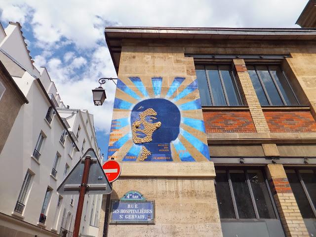 Gregos, StreetArt, Le Marais, París, Elisa N, Blog de Viajes, Lifestyle, Travel