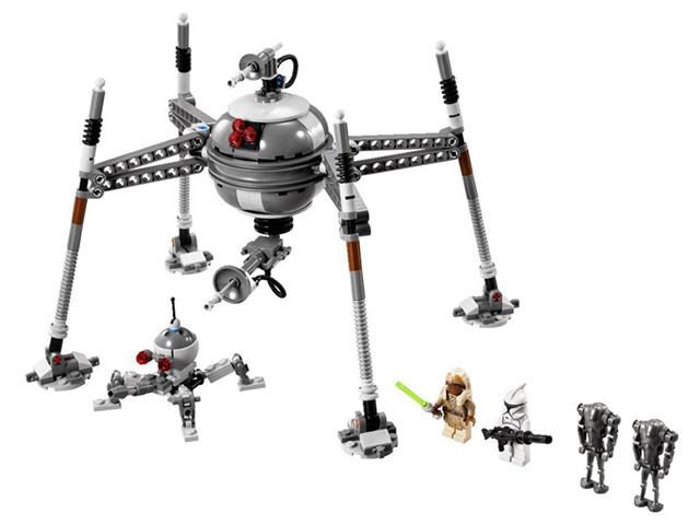 75016 レゴ ホーミング・スパイダー・ドロイド