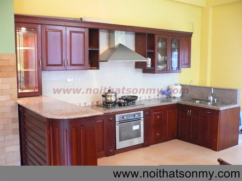 Tủ bếp gỗ 21