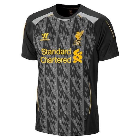 Jual Jersey Training Liverpool Terbaru 2014