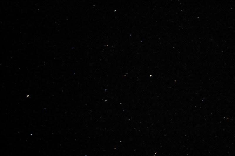 ババ平の満天の星の写真