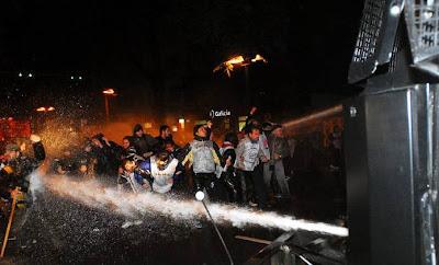 Foto de la represión